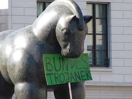 Pferde-Statue von Fernando Botero