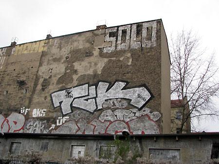 Graffitti auf Stralau