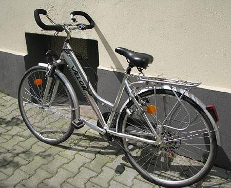 das geklaute Fahrrad