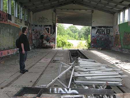 ehemalige Bahnausbesserungshalle