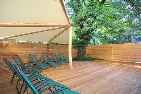 Kiezsauna: die Terrasse
