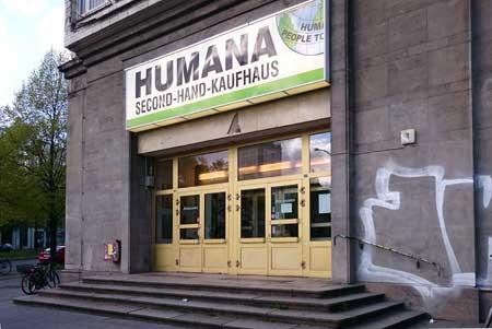 Eingang Humana