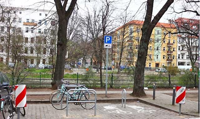 Lastenradparkplätze