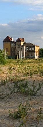 Gebäude auf Stralau
