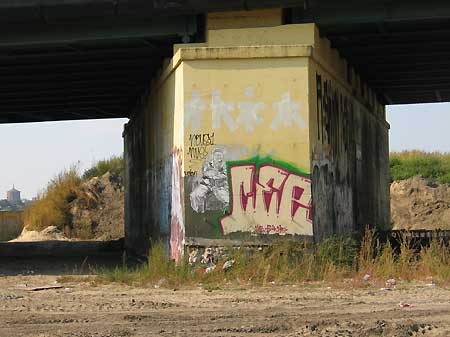 unter der Warschauer Brücke