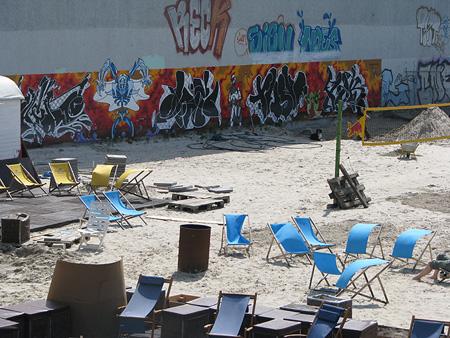 Strandbar in Friedrichshain