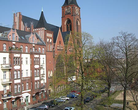 Zwinglikirche am Rudolfplatz