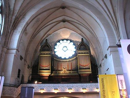 Orgel in der Zwinglikirche