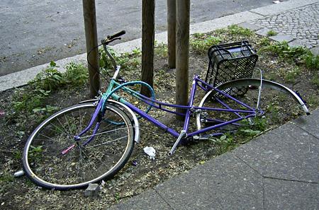 Berliner Fahrradschicksal