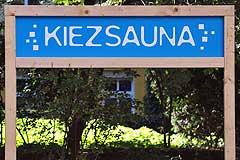 Kietzsauna-Eingang