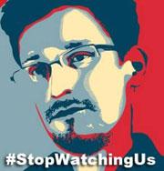 stopwatchingus - Snowden-Plakat