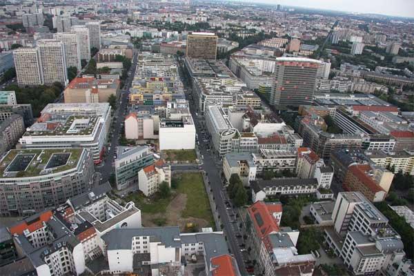 Kreuzberg von oben