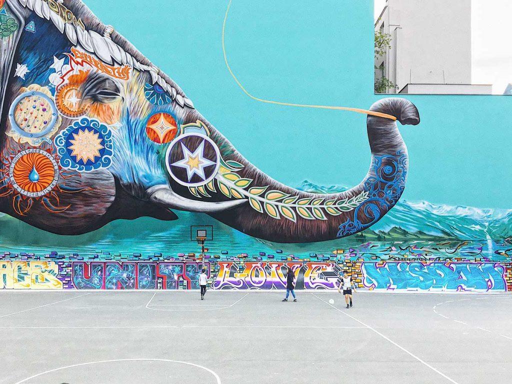 Mural von Jadore Tong